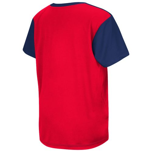 Colosseum Athletics™ Boys' University of Mississippi Short Sleeve T-shirt - view number 2