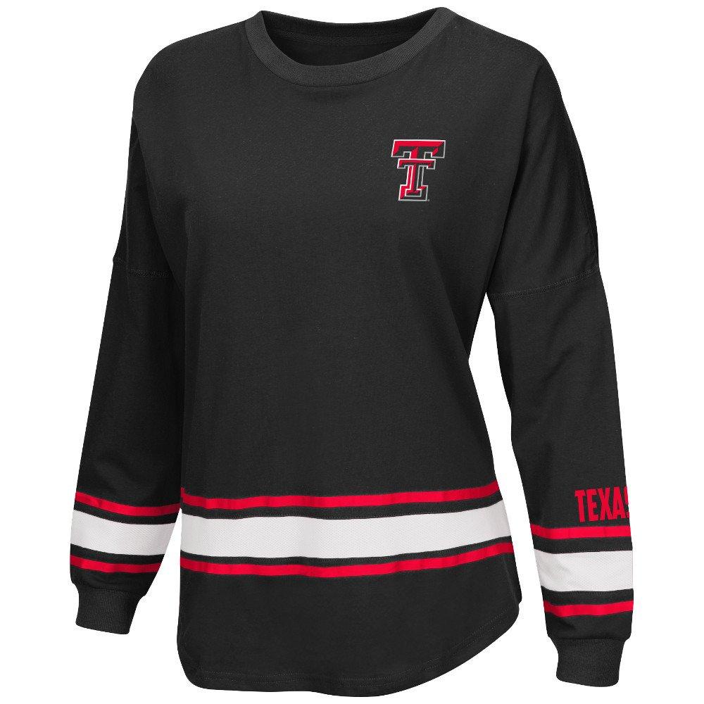 Colosseum Athletics™ Women's Texas Tech University All Around Oversize Long Sleeve T-shirt