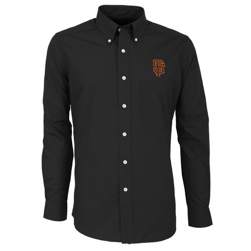 Antigua Men's San Francisco Giants Dynasty Long Sleeve Button Down Shirt