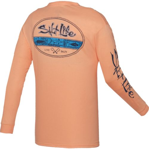 Salt Life™ Men's Tahitian Seal Long Sleeve T-shirt