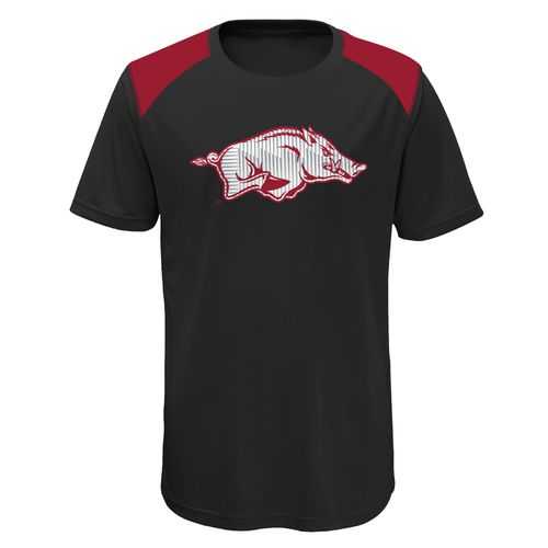 Gen2 Boys' University of Arkansas Ellipse Performance Top