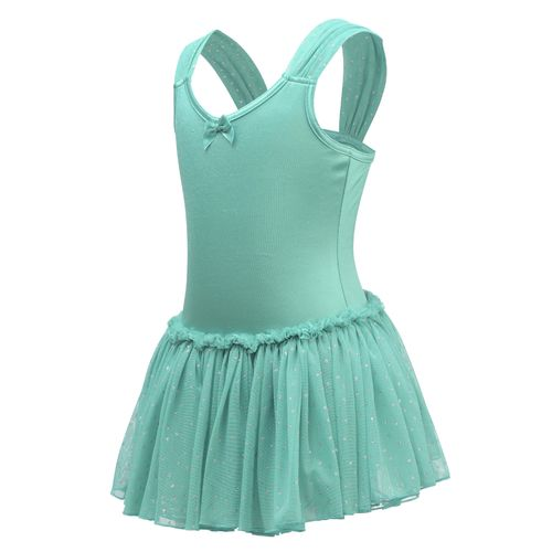 Capezio® Girls' Future Star Gown with Sheer Straps