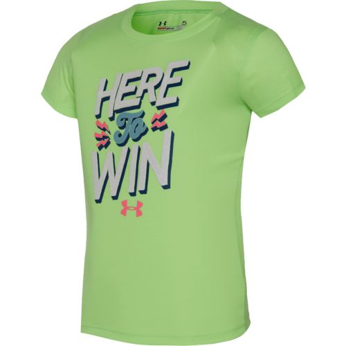 Under Armour® Girls' Here To Win T-shirt