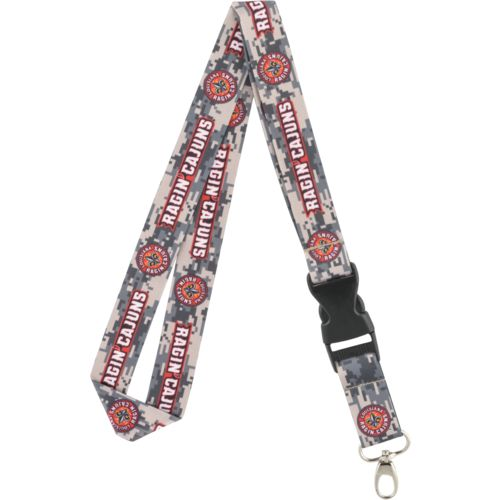 NCAA University of Louisiana at Lafayette Digicam Lanyard