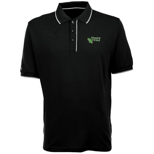 Antigua Men's University of North Texas Elite Polo Shirt
