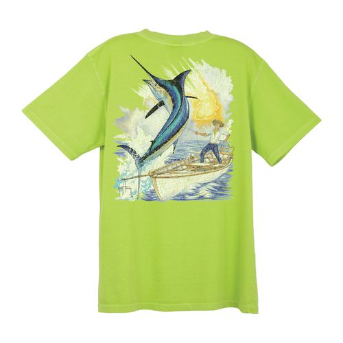 Guy Harvey Men's Old Man Vintage T-shirt