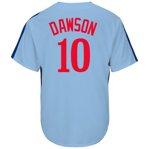 Majestic Men's Montreal Expos Andre Dawson #10 Cooperstown Cool Base Replica Jersey