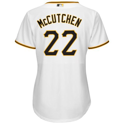 Majestic Women's Pittsburgh Pirates Andrew McCutchen #22 Cool Base® Replica Jersey - view number 1