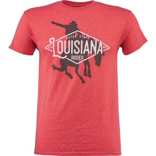 Academy Sports + Outdoors™ Men's Louisiana State Love T-shirt