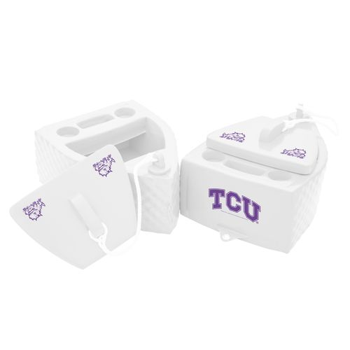 TRC Recreation Texas Christian University Floating SS Goodlife Kooler - view number 1