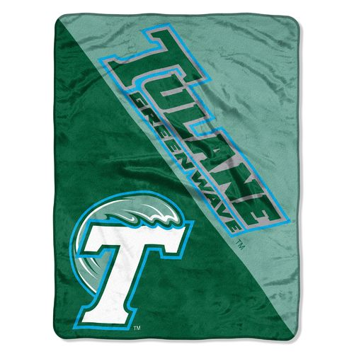 The Northwest Company Tulane University Halftone Micro Raschel Throw