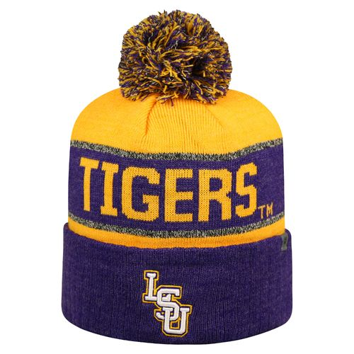 Top of the World Men's Louisiana State University Below Zero Cuffed Knit Cap
