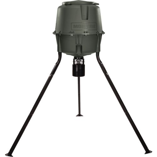 Display product reviews for Moultrie Deer Feeder Elite 30-Gallon Tripod Feeder