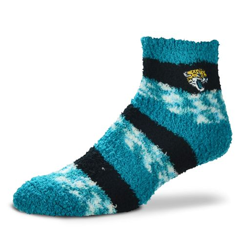 FBF Originals Women's Jacksonville Jaguars Pro Stripe Sleep Soft Socks