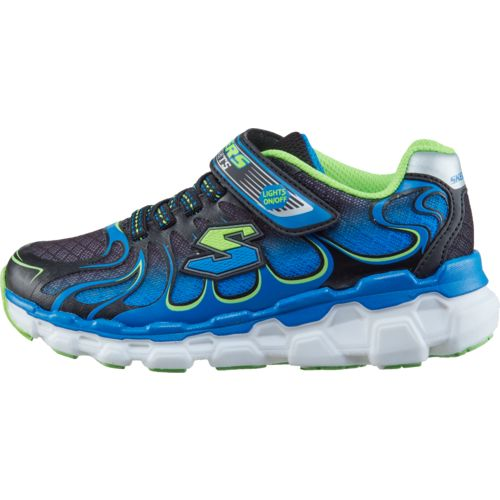 SKECHERS Boys' S Lights Skech-Rayz Shoes