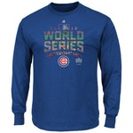 Majestic Men's Chicago Cubs Attention Grabber World Series '16 Bound T-shirt