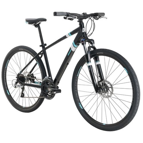 Diamondback Women's Calico Sport 700c 24-Speed Dual-Sport Hybrid Bike