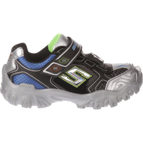 SKECHERS Boys' Hot Lights Damager II Adventurer 2.0 Shoes
