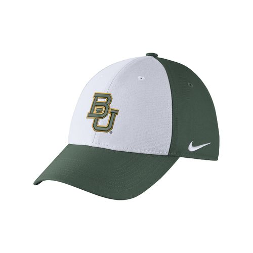 Nike Men's Baylor University Dri-FIT Wool Swoosh Flex Cap