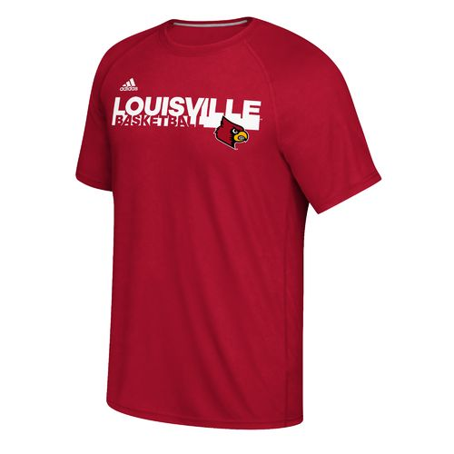 adidas™ Men's University of Louisville Sideline Grind climalite® Ultimate T-shirt