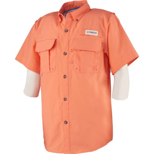 Magellan Outdoors Boys' Laguna Madre Short Sleeve Top