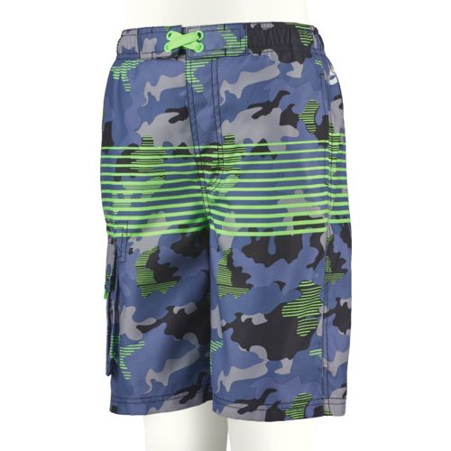 O'Rageous Boys' Camo Wood E-boardshort