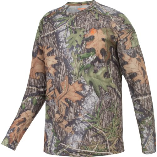 Display product reviews for Game Winner Men's Eagle Pass Camo Long Sleeve Shirt
