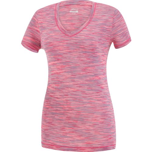 Display product reviews for BCG Women's Short Sleeve Space Dye Tech T-shirt