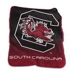 Logo University of South Carolina 50 in x 60 in Raschel Throw - view number 1
