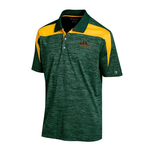 Champion™ Men's Baylor University Synthetic Colorblock Polo Shirt