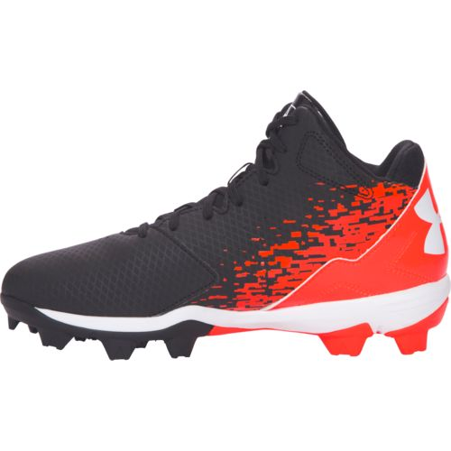 Under Armour™ Boys' Leadoff Mid RM Jr. Baseball Cleats