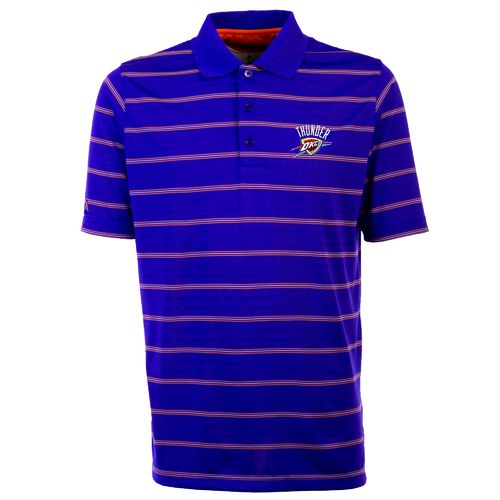Antigua Men's Oklahoma City Thunder Deluxe Polo Shirt