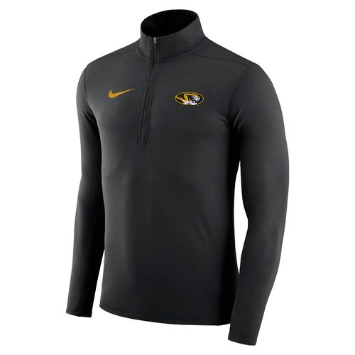 Nike™ Men's University of Missouri Element 1/4 Zip Pullover