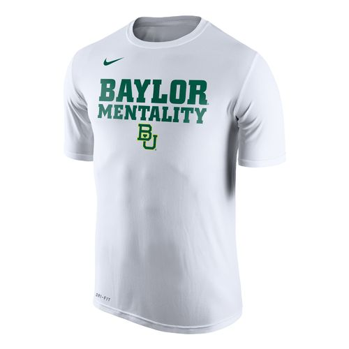 Nike Men's Baylor University Basketball Legend Mentality Bench T-shirt