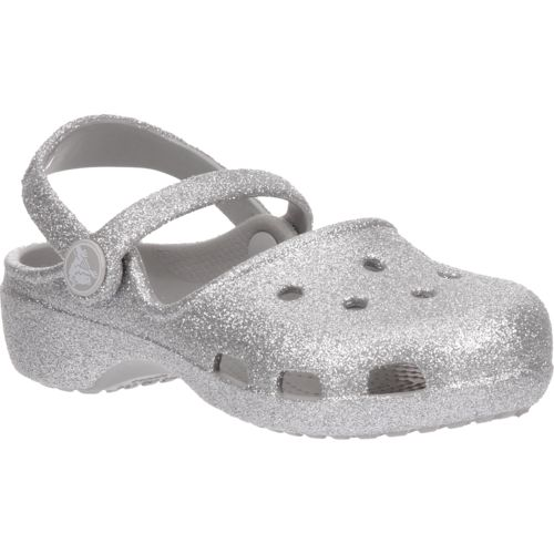 Crocs™ Girls' Karin Sparkle Clogs - view number 2