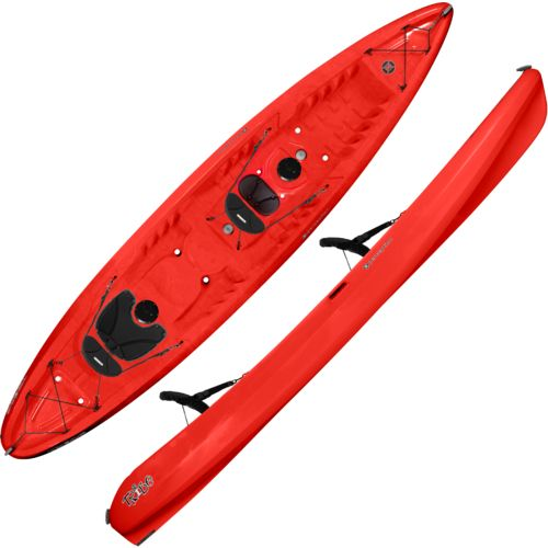 Perception Tribe 13.5 Sit-On-Top Tandem Recreational Kayak