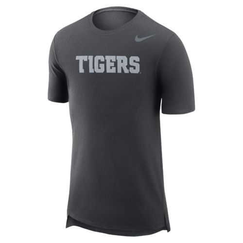 Nike Men's Clemson University Enzyme Droptail T-shirt - view number 1