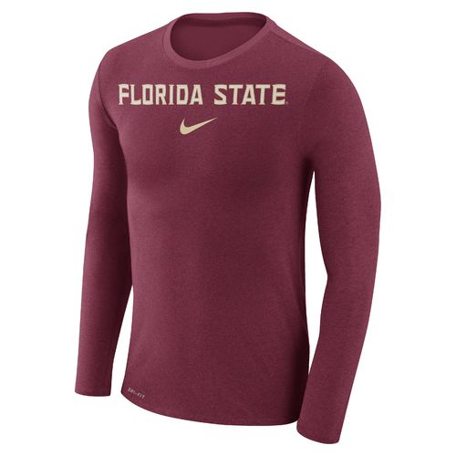 Nike™ Men's Florida State University Dry Marled Long Sleeve T-shirt