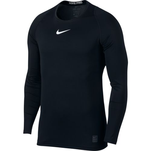 Nike Men's Nike Pro Long Sleeve Fitted Top - view number 2