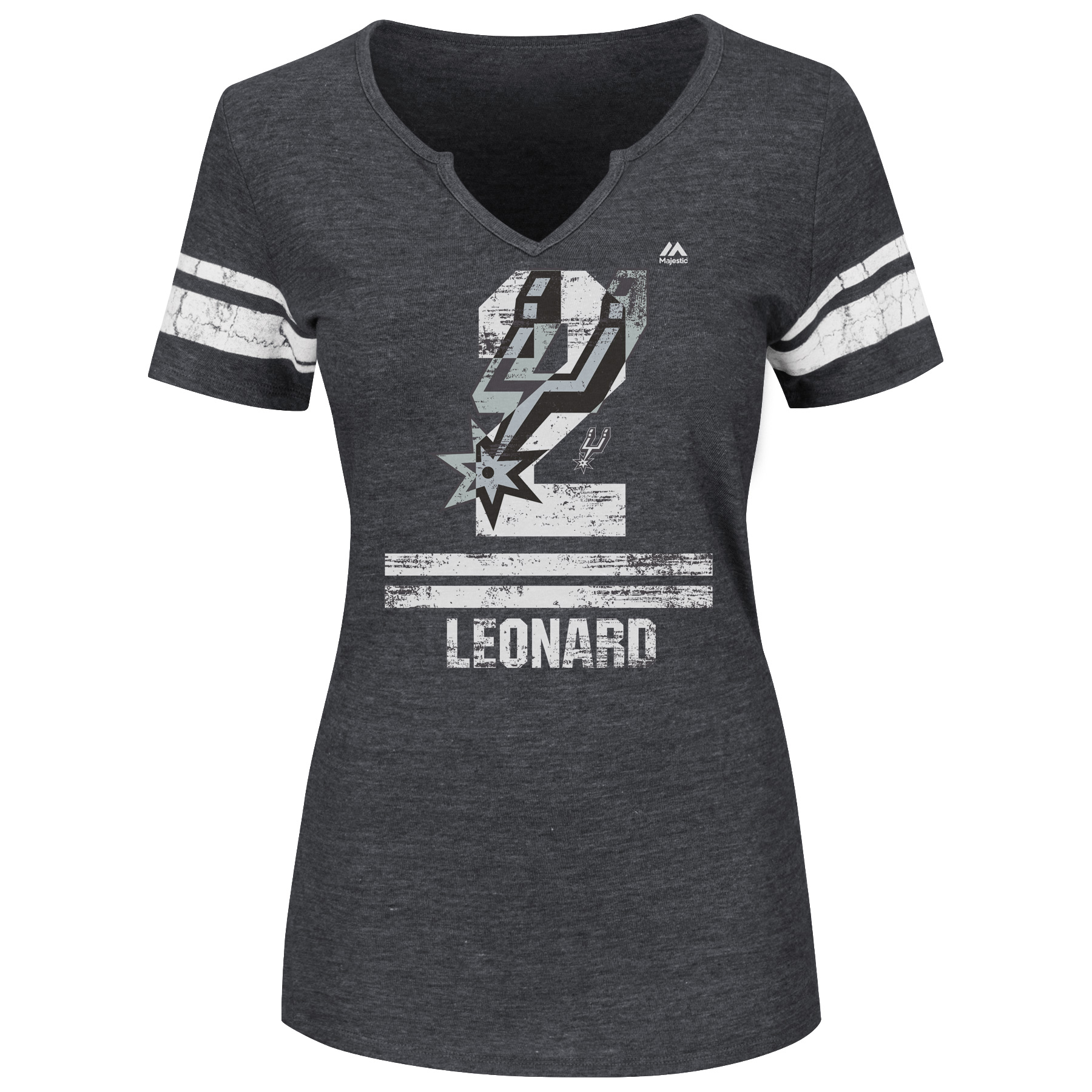 Majestic Women's San Antonio Spurs Kawhi Leonard To the Top T-shirt
