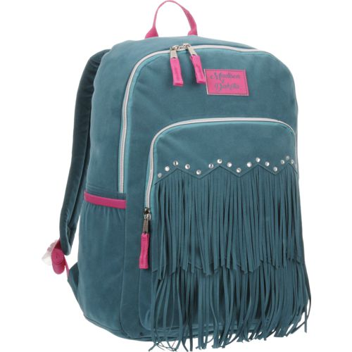 Madison & Dakota Girls' Ultrasuede Fringe Backpack - view number 2
