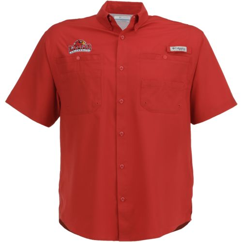Columbia Sportswear Men's Lamar University Tamiami™ Button Down Shirt - view number 1