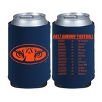 Kolder Kaddy Auburn University 2017 Football Schedule 12 oz Can Insulator - view number 1