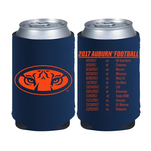 Kolder Kaddy Auburn University 2017 Football Schedule 12 oz Can Insulator