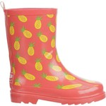Austin Trading Co. Girls' Pineapple Rubber Boots - view number 1
