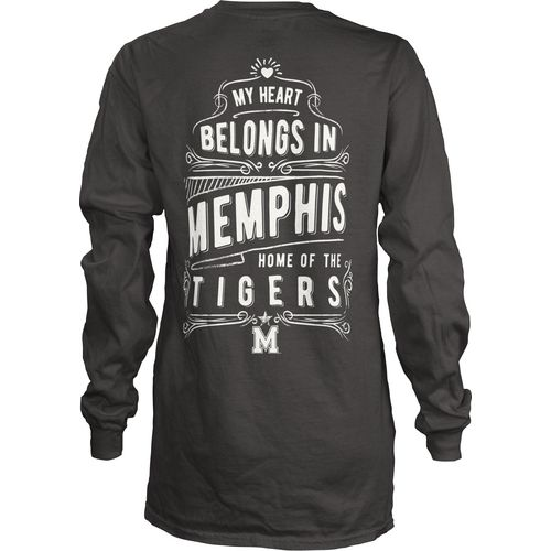 Three Squared Juniors' University of Memphis Tower Long Sleeve T-shirt - view number 1