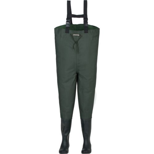 Display product reviews for Compass 360 Oxbow 2 Ply Rubber Cleat Chest Bootfoot Wader