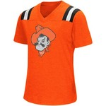 Colosseum Athletics Girls' Oklahoma State University Rugby Short Sleeve T-shirt - view number 1