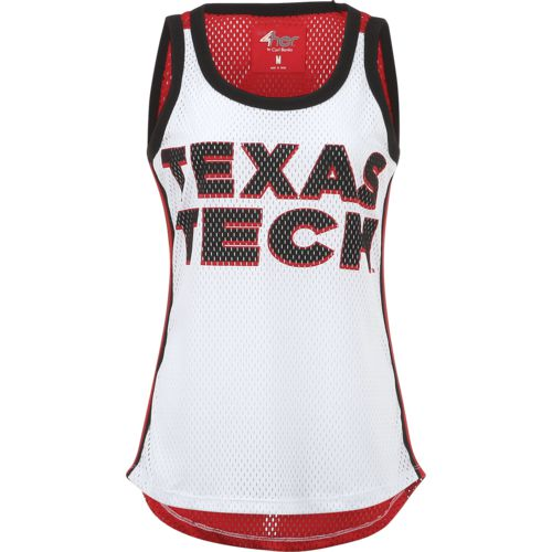 G-III for Her Women's Texas Tech University Opening Day Mesh Tank Top