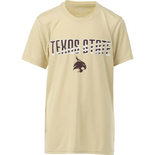 Colosseum Athletics Boys' Texas State University Team Stripe T-shirt
